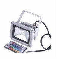 Waterproof Remote Control RGB LED Flood Light RGB Floodlighting Free Shipping