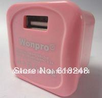 100V-240V to AC/DC Wonpro Universal Adapter Power Supply 5V/2A USB Plug Charger