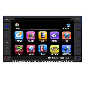 6.2' inch car dvd player with reversing camera