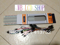 MB-102 830 points Solderless Prototype Bread board kit +65 Flexible jumper wires cables wholesale