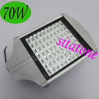 2 years warranty free shipping sale 70W led street light AC85-265V IP65 130-140LM/W LED 70*1w led street light