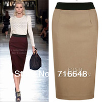 Free shipping the spring and autumn period and the new wool suit skirt? High purse hip skirt