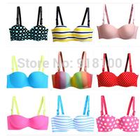 2014 New Sexy Seamless Bra Gather Adjustable Women Bra Set Seamless Underwear Brand Bra Support Wholesale Free Shipping Only Bra