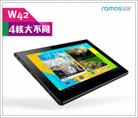 9.4 inch Ramos W42 Quad core tablet 1.4GHz 1GB/16GB Bluetooth Dual camera IPS Screen Android 4.0 tablet PC