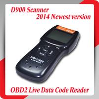 2014 New version D900 scanner Universal OBD2 EOBD CAN Fault Code Reader Scanner Diagnostic Scan For Any Car