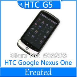 G5 Original HTC Google Nexus One G5 Android 3G 5MP GPS WIFI 3.7''TouchScreen Unlocked Mobile Phone In Stock + Gift(China (Mainland))