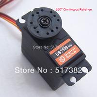 5x Free shipping servo 360 degree Continuous Rotation Servo DS3109 Metal gear arduino servo Digital servo 10kg/cm