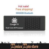 Fedex free shipping 10pcs=5pcs RC11 Fly mouse Remote +5pcs MK808B Android Mini Pc RK3066 HDMI TV Box