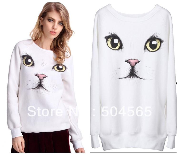 Блузки С Кошками Принтом 2013