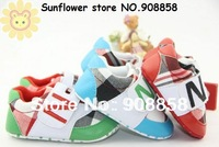 Free shipping 3 prs/lot New Arrlval Hot sell shoes boy Cute baby shoes   Mix colros &size