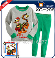Baby suits Cotton Children Pajamas Tiger baby Pajamas long sleeve suits kids home suits