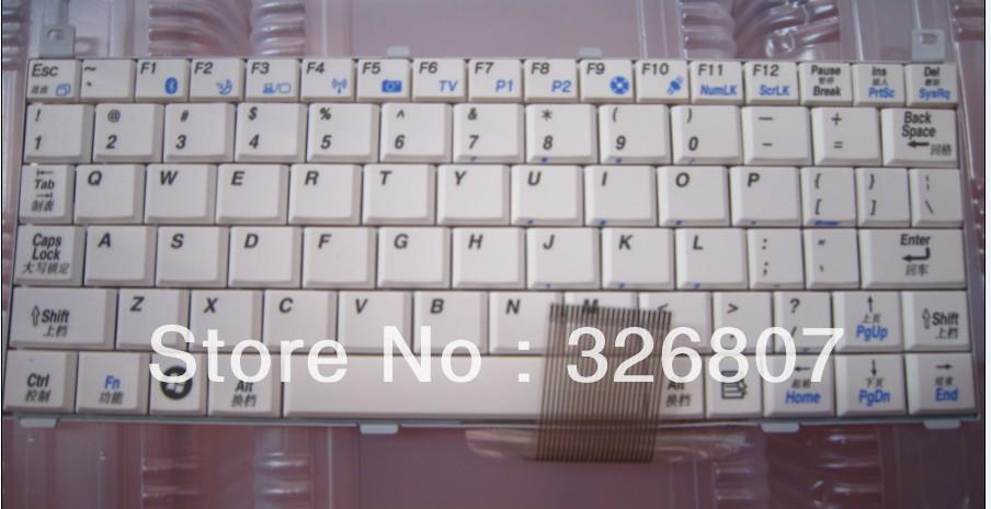 KOHJINSHA SR series Laptop keyboard K00122601 6037B0025806 white(China (Mainland))