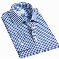 New 2014   fashion Casual men slim fit shirt brand  long-sleeve  camisa  shirts 100% cotton S M L XL XXL