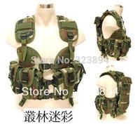 US Navy Seal Modular Load SWAT Assault Density Tactical Vest Forest Camouflage