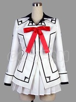 Anime Vampire Knight Cosplay - Vampire Knight Cosplay Night Class Girl Kurosu Yuuki Women's Uniform Costume Free shipping