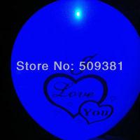 "100 pcs/Lot, Free Shipping, Led Light Flashing Balloons,12"" Led Balloons, Wedding and Party Birthday Decoration, 5 Colour"