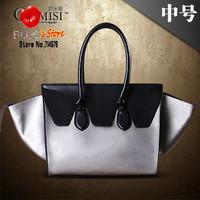 FREE SHIPPING wholesale leather handbags for women smiling handbags famous brand designer smiley bag women leather shoulder bag