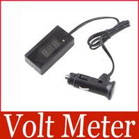 12V 24V Red LED Digital Car Volt Meter Vehicle Battery Voltage Gauge Voltmeter