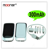 3000mAH Emergency Portable Power Battery Charger for Phone Tablet PC MP3 Camera iphone ipad DA0136