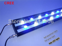 "1.2m 48"" cree led aquarium light marine coral reef led lighting. No fan Zero noise+Cree LED 12000K 460nm. Factory direct sale"