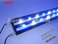 "1.2m 48"" cree led aquarium light marine coral reef led lighting. No fan Zero noise+Cree LED 12000K 460nm. Factory direct sale"