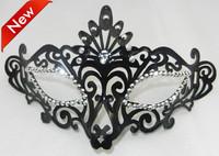 Sexy Cosplay Fox costume Halloween Mask luxurious crystal eyeline peacock mask venetian masquerade ball decoration