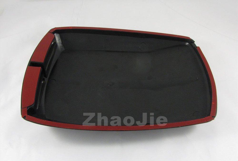 SUV decorative Air Flow Intake Hood Scoop Bonnet Vent Cover fake carbon fiber