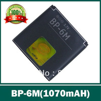 Free shipping,BP-6M Battery For NKA N93 N73 9300i 9300 6280 6288 6233 6151 3250 6234 N93S N77 ,1070mAh,Best quality ,2pcs
