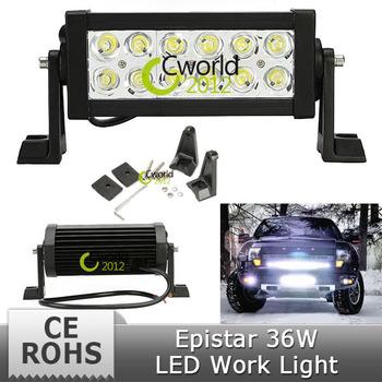 36W 7.5 INCH TRUCK BOAT SUV 4WD 4X4 ATV UTV MINING CAMPING IP67 OFFROAD DRIVING WORKLIGHT LED FRONT BRAKE HEADLIGHT FOG LAMP