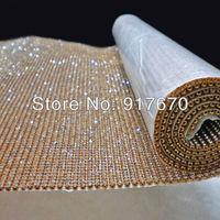 Hot fix 3mm rhinestone mesh trimming, crystal rhinestone mesh wrap roll, rhinestone applique trim for christmas ornaments beads