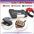 100% Quality A+ New cdp plus pro with USB dongle key, flight function 2013 release 1 CAR TRUCK GENERIC 3 IN 1 tcs cdp 2013 r1