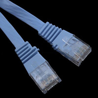 New 3FT 1M CAT6 CAT 6 Flat UTP Ethernet Network Cable RJ45 Patch LAN Cord