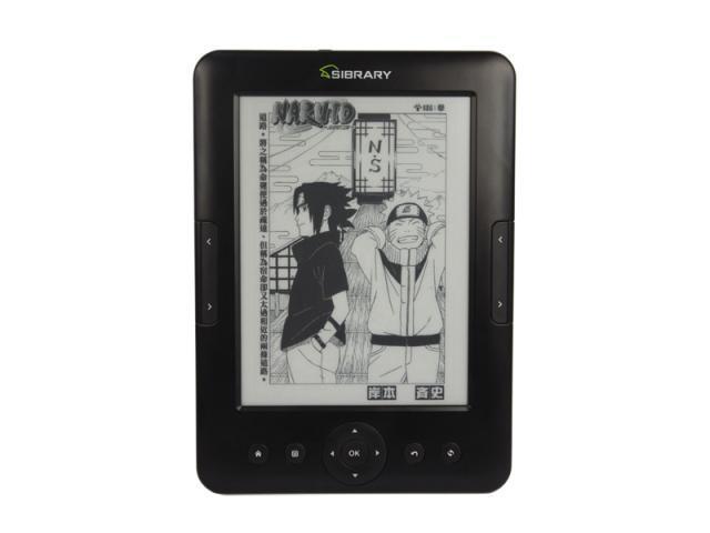 Sibrary C60,book reader, 6'' E- ink pearl screen,4GB, pdf, wifi,TTS,autopage,bookmark,top quality,freeship(China (Mainland))