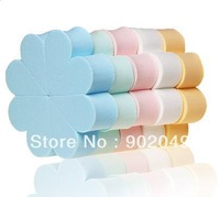 Hot sell petals sponge puff 8 pieces anti-allergic skin-friendly ve cosmetic sponge LTF-044
