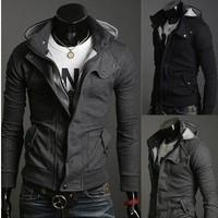 Man Hoody Tracksuits Sport Suit Men fleece Assassins Creed Sportswear brand moleton mens hoodies and sweatshirts clothing set