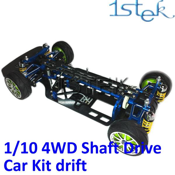 1:10 4WD Shaft Drive RC Car Kit, Racing Car Kit For Tamiya TT01E(China (Mainland))