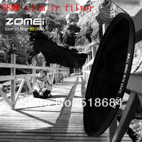 Wholesale high quality ZOMEI brand slim IR Filter 58mm Infrared X-Ray IR Pass Filter 850NM 58 MM lens camera