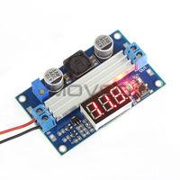 Adjustable 3~35V 3.7/12V to 3.5~35V 5/18V DC/DC Boost Converter Module Voltage Regulator +Digital Voltmeter LED #090030