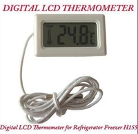 New White Digital LCD Thermometer for Refrigerator Freezer H155 Thermometer FREE SHIPPING