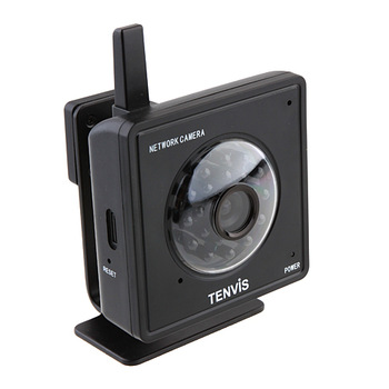 Hot Sale Tenvis Mini319W Black Easy Mini WIFI Baby Monitor IR LED 2-Way Audio Night Vision CCTV CMOS Black IP Camera