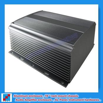 New 2013 Extruded Anodized Aluminum Profile/Fin Heat Sink / Heatsink 234x80x250mm (WxHxL) Distribution Amplifier Chassis