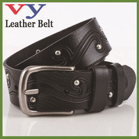 Guangzhou lady fashion belt factory direct sale fashion leisure embossed western vintage classical lady belt easy matched jeans