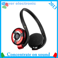 bluetooth stereo headphones with Mp3 player headset &wireless and fashion,sport earpiece 360