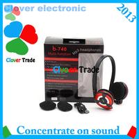 Sport headphone mp3 player  wireless headset with Mircophone On ear headphone Free shipping