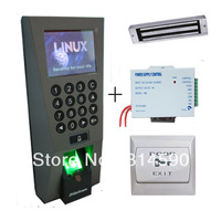 ZKTeco F18  Access Control With 12V3A Power Supply, Magnetic lock, PC Exit Button Access Control System