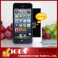 "Goophone  i5 Y8 Dual core MTK6577 Single nano-SIM android with 4.0"" Screen GPS cell Phone"