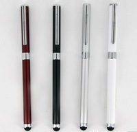 Cheap price 10pcs free shipping 2 in 1 ballpoint and stylus pen for iphone,ipad , mobile phone , tablet pc
