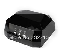 Black 36W CCFL LED UV Gel Nail Art Lamp Nail Dryer Curing Light  Portahle Professional Home / Salon 110v - 220v