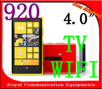 "New Free Shipping 4.0"" Touch Screen Quad Band Dual SIM N9 920 TV WIFI Mobile Phone"