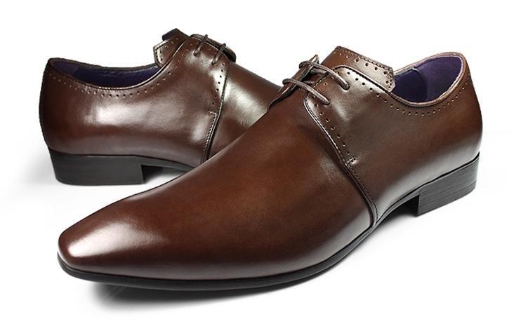 Lace men s dress shoes